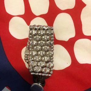 UNO de50 Silver bracelet